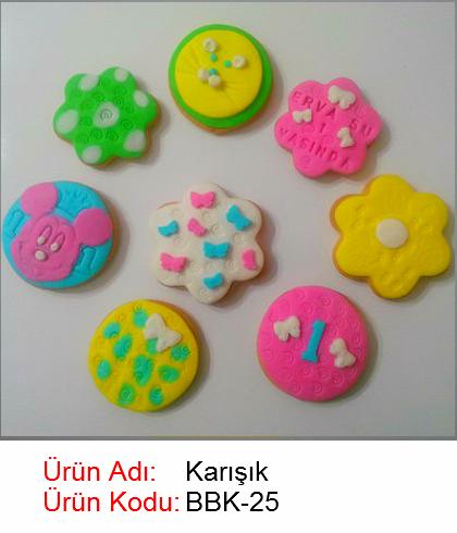 Karışık bebek kurabiyesi