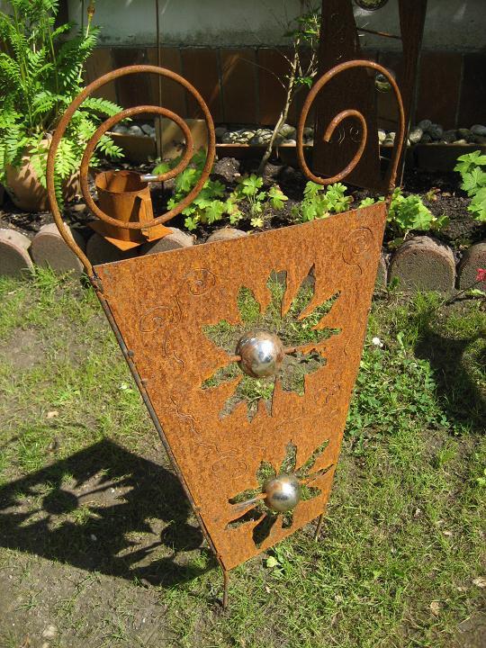 Edelrost design startseite for Gartendeko aus blech