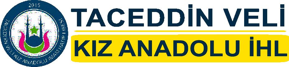 Taceddin Veli Kız İmam hatip, lisesi logo