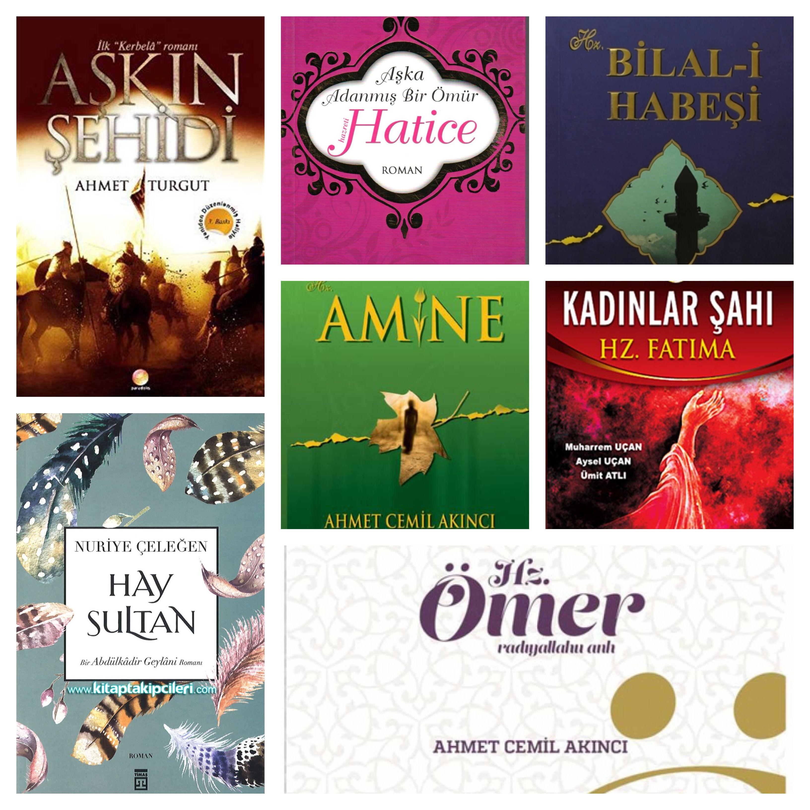 haz, ebubekir, ömer, osman, ali, fatıma, veysel karani, biyografi, roman