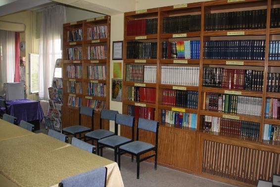 kütüphane tasnif, Dewey, 10'lu tasnif, sistem, Arif Molu, Kütüphanesi, Kocasinan