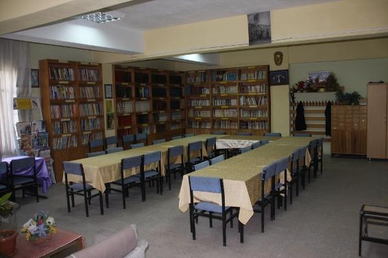 Arif Molu, Kütüphanesi, Kocasinan