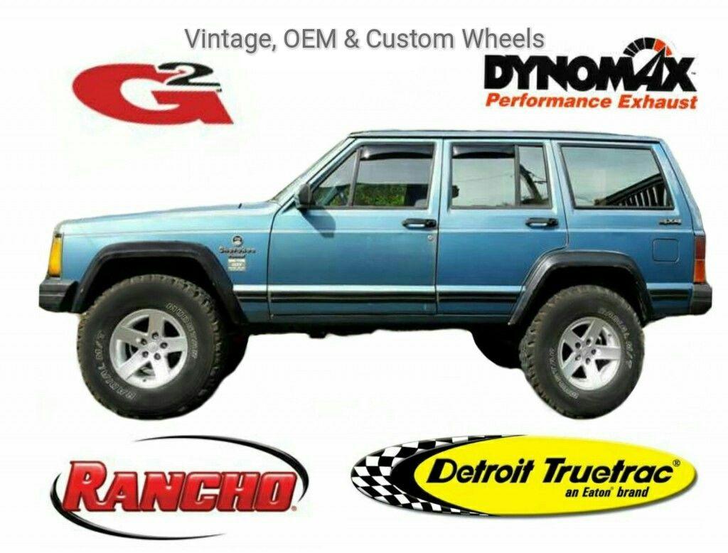 Jeep Cherokee XJ Rancho RSX Reflex Eaton Detroit Truetrac G2 Mamba MR1X