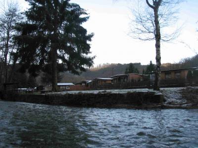 Campingplatz Schuld im Winter 2008