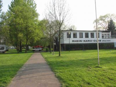 Ziel erreicht! Bootshaus Rhein-Kanu-Klub Köln