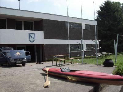 Das bootshaus des Kanu Club Grevenbroich