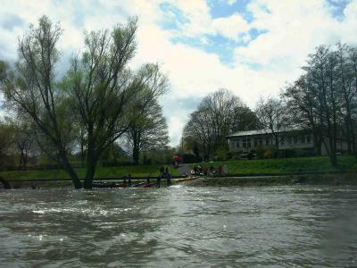 Bootshaus und DKV Kanustation des Godesberger Kanu Clubs GKC