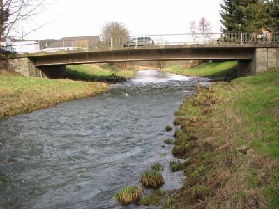 Strassenbrücke in Hoffnungsthal-Sülze