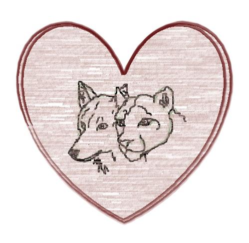 Einfach Zeichnen Bild Wolf Lowe