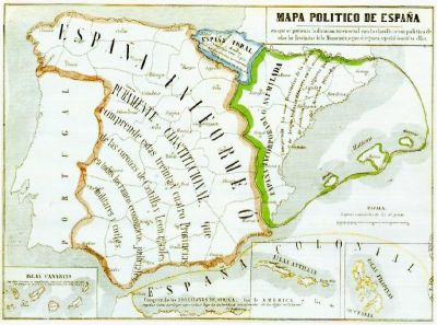 Mapa Espanya
