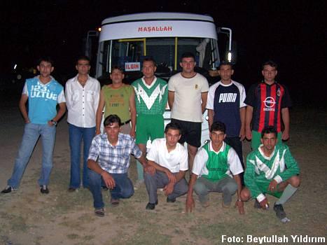 Eldeşli gençler Ilgın'da gece maçında 2007