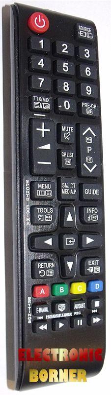 Ersatz Fernbedienung für Samsung TV UE65KU6070UE65KU6079UE65KU6179