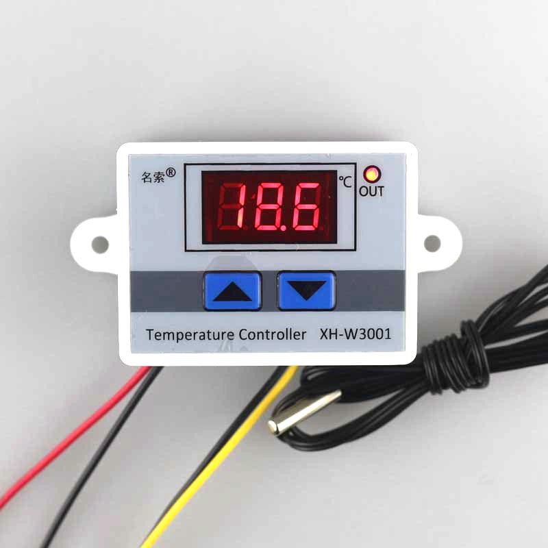 Termostato programable digital led 220v 230v 10a rel con for Termostato digital calefaccion programable