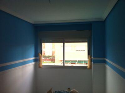 dos colocacion de moldura de escayola y molduras de media luna en cenefas pintado techos zocalo y molduras de techo y cenefas en plastica