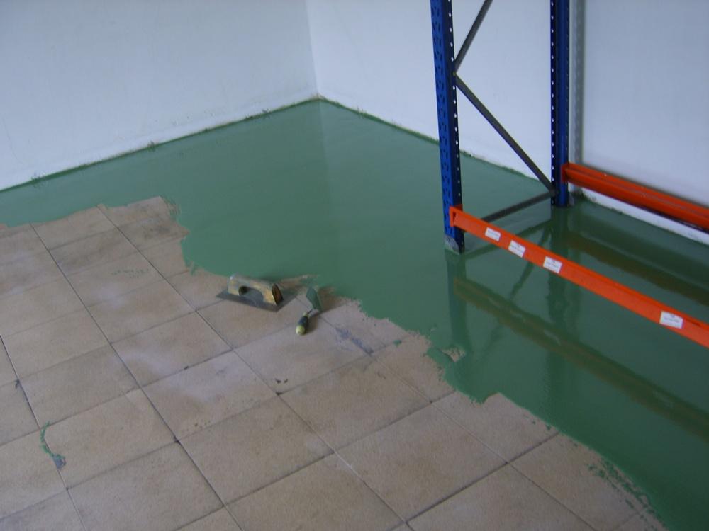 Elpintor s l pinturas industriales - Pintura suelo parking ...
