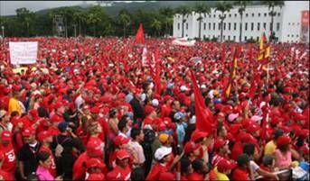 Los Revolucionarios Celebrando EL 4F en los Proceres/Caracas