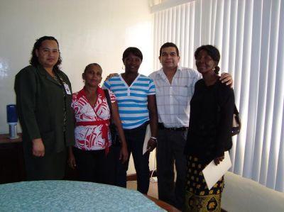 Segundo Secretario Nelson Mendoza  y Amigos