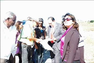 Representantes de PDVCaribe, Embajador Dario Morandy y Representantes del Gobierno Guyanes