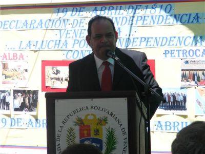 Embajador Dario Morandy Figuera