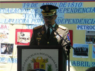 Agregado Militar  General  D Luca Varesano