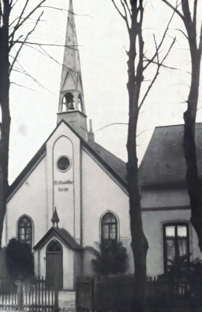 Methodistenkirche 1880 bis 1911