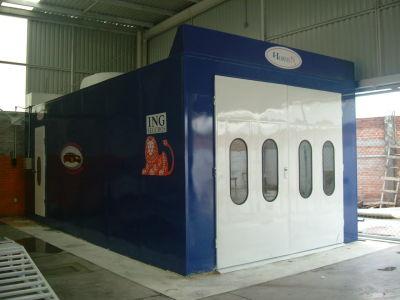 Enfriamiento control y servicios otros servicios for Cabina de pintura portatil
