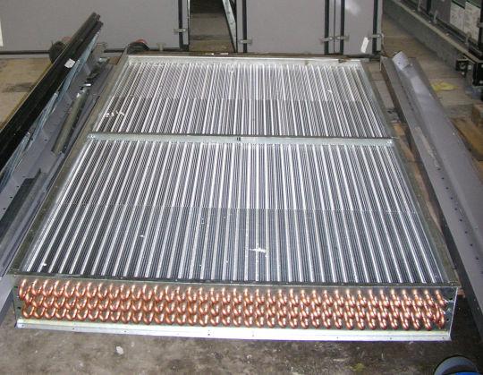 Serpentin condensador para refrigeracion