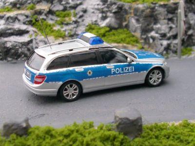 engels modellbau mb c klasse t modell s204 polizei baden w rttemberg. Black Bedroom Furniture Sets. Home Design Ideas
