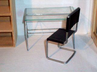 Maquetas muebles en escala juguetes de madera maquetas for Escritorios y sillas para oficina