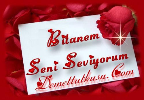 Любимой, открытки на турецком с днем