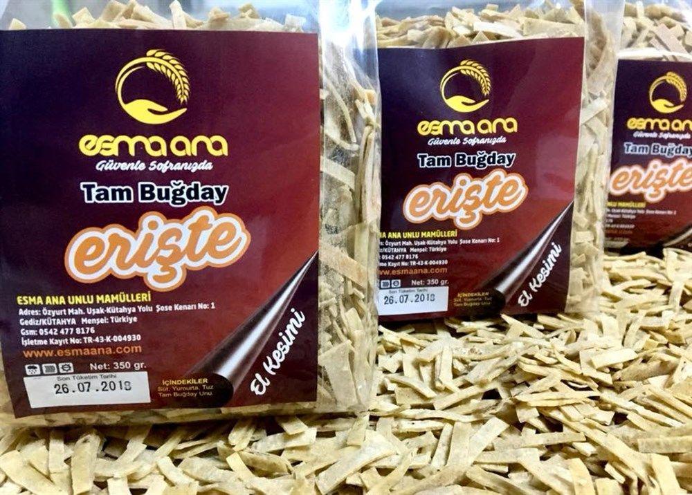 Esma Ana Tam Buğday Erişte 350gr