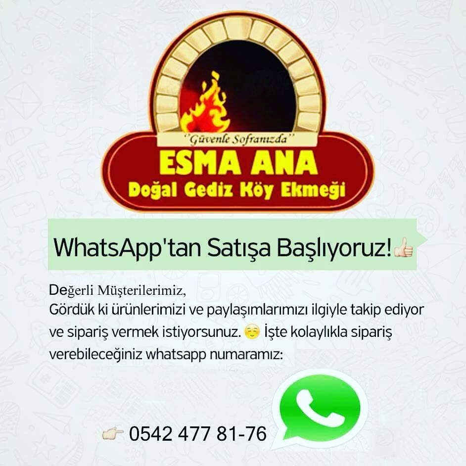 Esma Ana WhatsApp Sipariş  Hattı