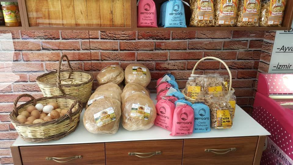 Esma Ana  Ekşi Mayalı Tam Buğday Ekmekleri Artik Balikesir'de