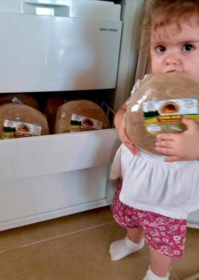 Esma Ana Ekşi Mayalı Doğal Köy Ekmeği Sizden Gelenler