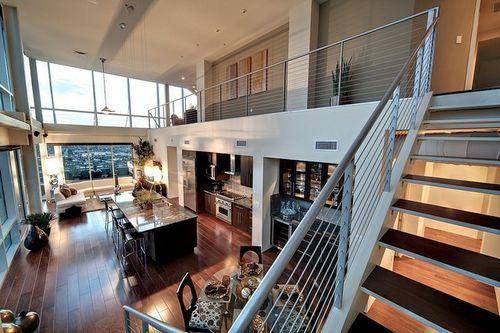 wohnideen fur die penthousewohnung wird sie zumtraumhaften zuhause, Wohnzimmer