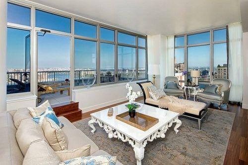 eurodesigninter - wohnideen für penthousewohnung – so wird sie zum, Wohnzimmer
