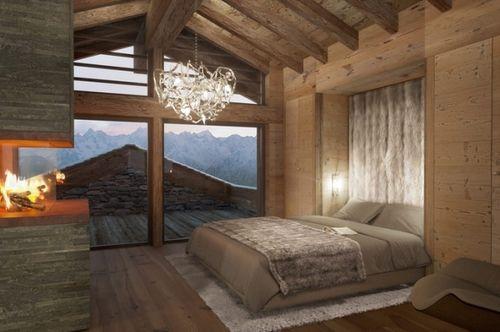 Ideen Schlafzimmer Einrichtung Stil Chalet Ideen Fur Schlafzimmer ...