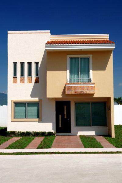 Venta de casas y terrenos inmobiliaria bonaterra habitat for Modelos de techos metalicos para casas