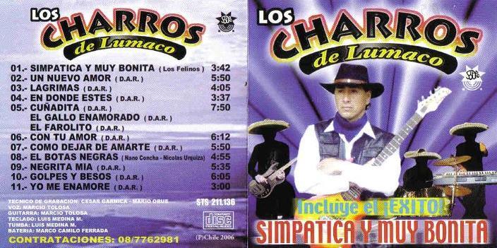 Cd De Los Charros De Lumaco