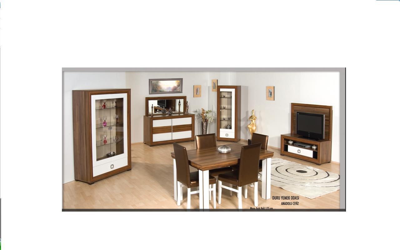 duru modern yemek odası, yemek odaları, modern yemek odaları, yemek odası takımları