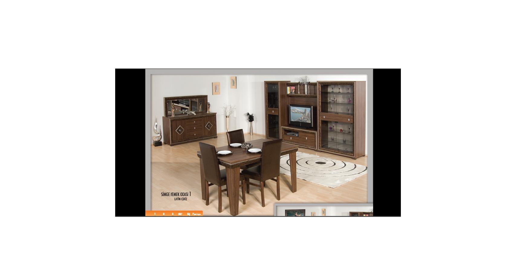 modern yemek odası, yemek odaları,simge yemek odası, yemek odası takımları