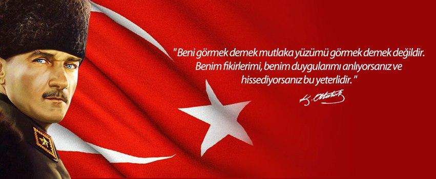10 Kasım ATATÜRK'Ü Anma Facebook Kapak Resimleri Fotoları Fotoğrafları