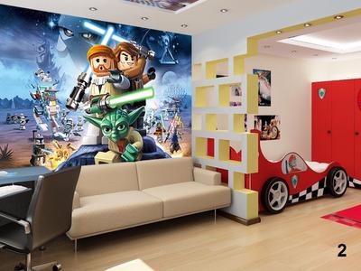 Fantasy deco vinilos decorativos lego for Kinderzimmer ninjago
