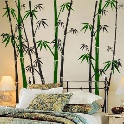 fantasy deco vinilos decorativos bambu