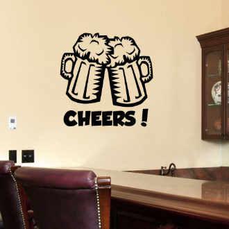 Fantasy deco vinilos decorativos bares y tabernas for Decoracion de paredes con adhesivos
