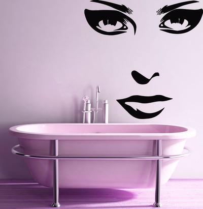 Fantasy deco vinilos decorativos salones de belleza y spa for Relojes decorativos para salon
