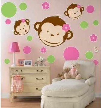 Fantasy deco vinilos decorativos cuarto ni as - Dibujos para decorar habitaciones de bebes ...