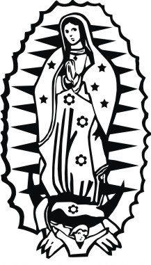 Fantasy Deco Vinilos Decorativos Virgen De Guadalupe