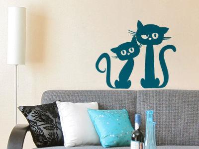 Fantasy deco vinilos decorativos gatos - Vinilos decorativos gatos ...