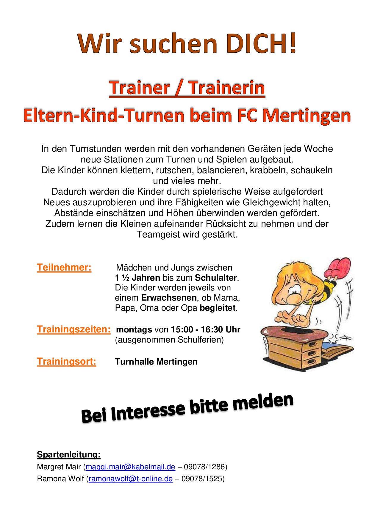 Mertingen sucht Trainer